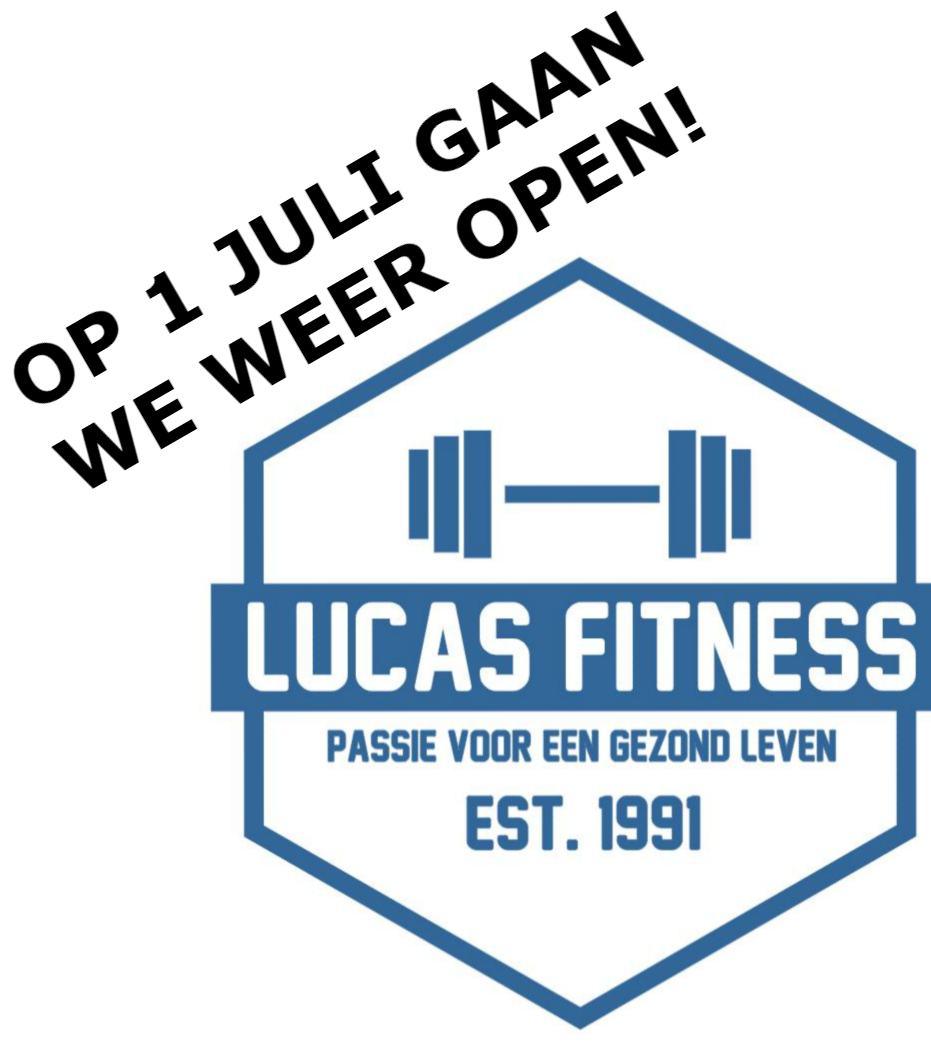 Sportschool in IJsselstein Lucas Fitness op 1 juli open